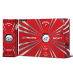 8129 Callaway 2016-2017 Chrome Soft Golf Balls